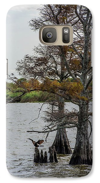 Galaxy Case featuring the photograph Cormorant by Paul Freidlund