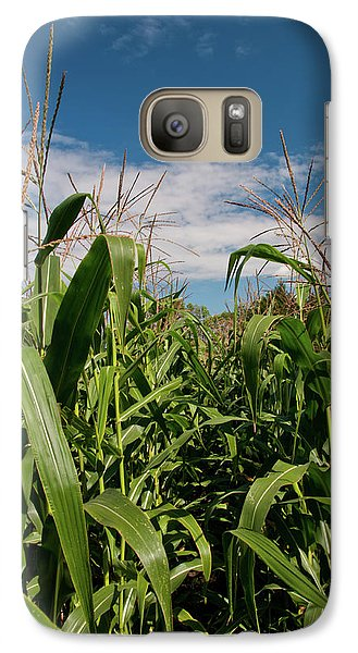 Galaxy Case featuring the photograph Corn 2287 by Guy Whiteley