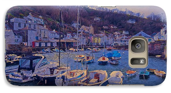 Galaxy Case featuring the photograph Cornish Fishing Village by Paul Gulliver