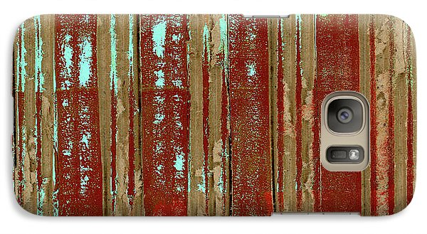 Galaxy Case featuring the photograph Corrugation by Carol Leigh