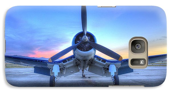 Corsair F4u At The Hollister Air Show Galaxy S7 Case