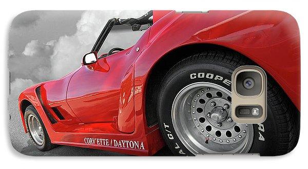 Galaxy Case featuring the photograph Corvette Daytona by Gill Billington
