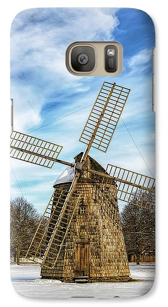 Galaxy Case featuring the photograph Corwith Windmill Long Island Ny Cii by Susan Candelario