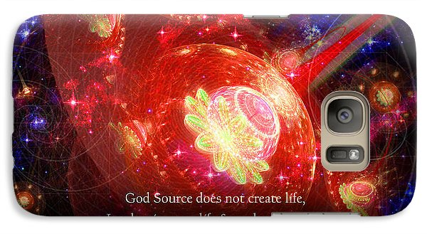 Cosmic Inspiration God Source 2 Galaxy S7 Case