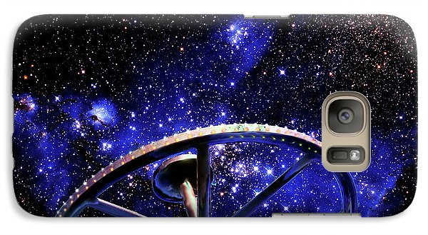 Galaxy Case featuring the photograph Cosmic Wheel by Jim and Emily Bush