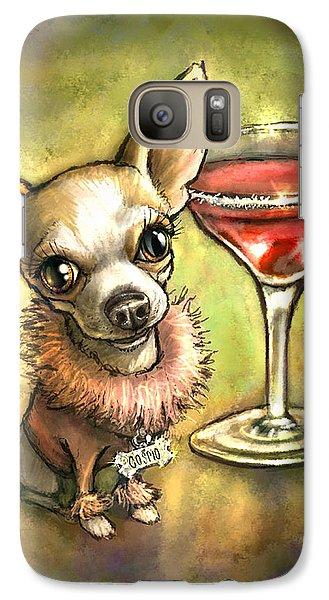 Martini Galaxy S7 Case - Cosmo by Sean ODaniels