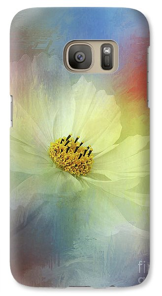 Cosmos Dreaming Abstract By Kaye Menner Galaxy S7 Case by Kaye Menner