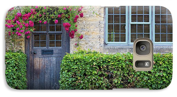 Galaxy Case featuring the photograph Cotswolds Cottage Home by Brian Jannsen