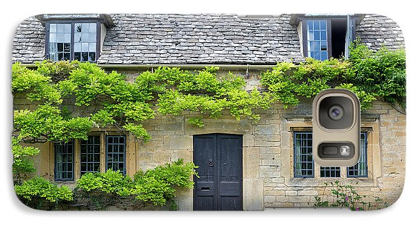 Galaxy Case featuring the photograph Cotswolds Cottage Home II by Brian Jannsen