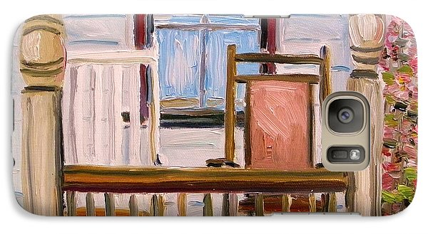 Galaxy Case featuring the painting Cottage Rockers by John Williams