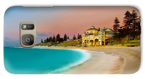 Featured Images Galaxy S7 Case - Cottesloe Beach Sunset by Az Jackson