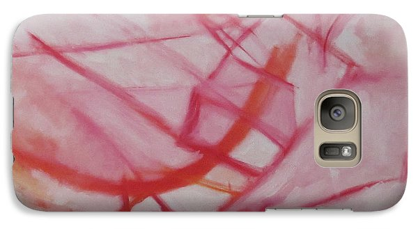 Galaxy Case featuring the painting Cottonhead by Patricia Cleasby