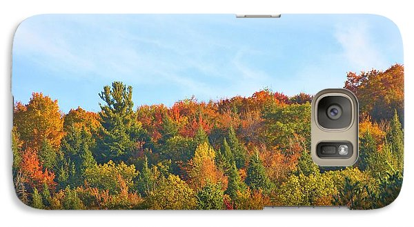Galaxy Case featuring the photograph Couleurs D' Automne by Aimelle