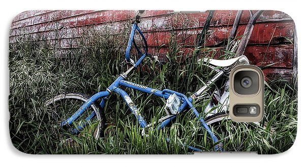 Galaxy Case featuring the photograph Country Bicycle by Brad Allen Fine Art