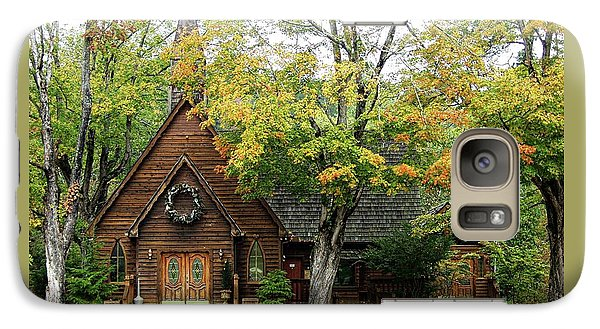 Galaxy Case featuring the photograph Country Chapel by Jerry Battle