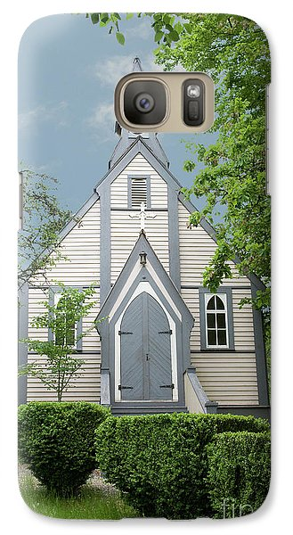 Galaxy Case featuring the photograph Country Church by Rod Wiens