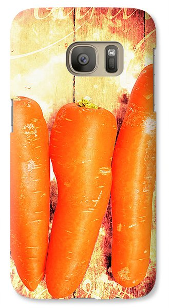 Country Cooking Poster Galaxy S7 Case by Jorgo Photography - Wall Art Gallery