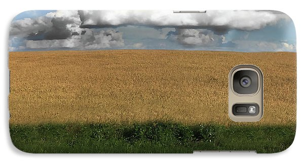 Galaxy Case featuring the photograph Country Field by Brian Jones