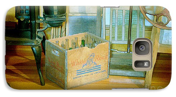 Galaxy Case featuring the painting Country Kitchen Sunshine II by RC deWinter
