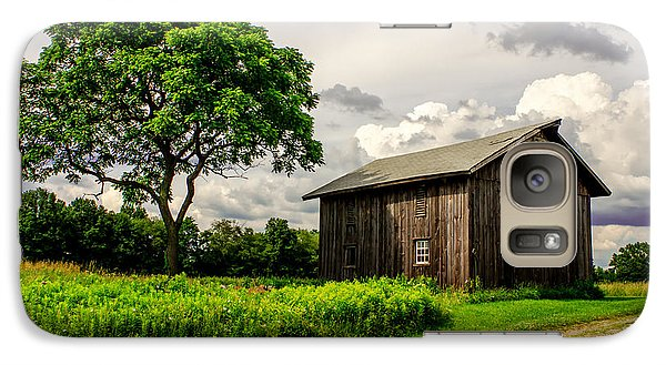 Galaxy Case featuring the photograph Country Life by Skip Tribby