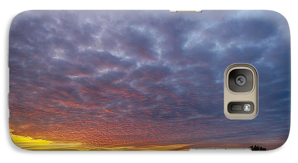 Galaxy Case featuring the photograph Country Living by Sebastian Musial