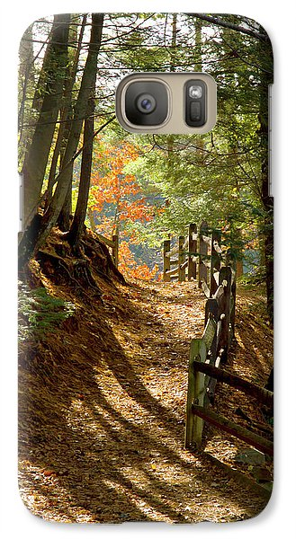 Galaxy Case featuring the photograph Country Path by Arthur Dodd