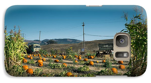 Country Pumpkin Patch Galaxy S7 Case by Kim Wilson