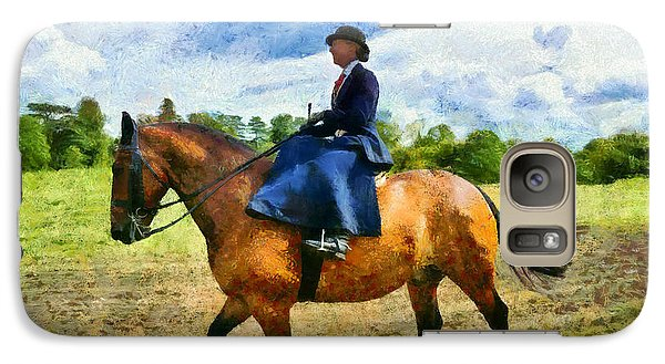 Galaxy Case featuring the photograph Country Ride by Scott Carruthers
