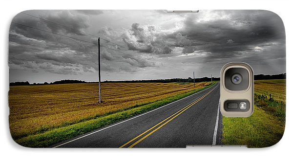 Galaxy Case featuring the photograph Country Road by Brian Jones
