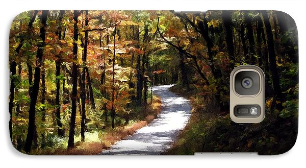 Galaxy Case featuring the photograph Country Road by David Dehner