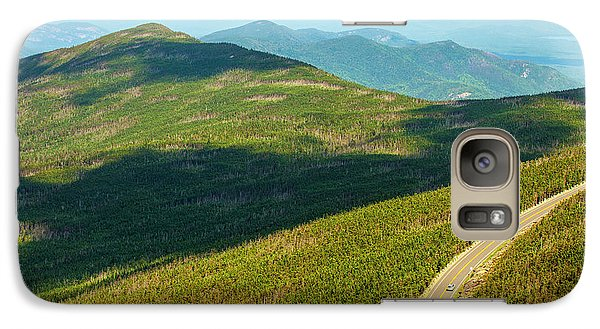 Galaxy Case featuring the photograph Country Road To My Home Whiteface Mountain New York by Paul Ge