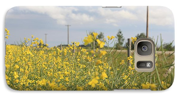 Galaxy Case featuring the photograph Country Road by Wilko Van de Kamp