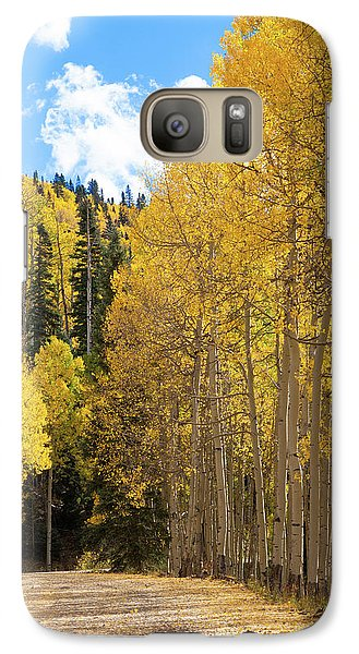 Galaxy Case featuring the photograph Country Roads by David Chandler