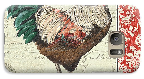 Country Rooster 1 Galaxy S7 Case by Debbie DeWitt