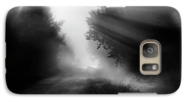 Galaxy Case featuring the photograph Country Trails by Dan Jurak