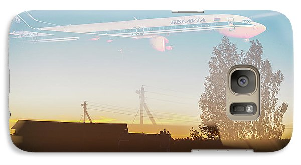 Galaxy S7 Case - Countryside Boeing by Victor Grigoryev