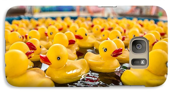County Fair Rubber Duckies Galaxy S7 Case