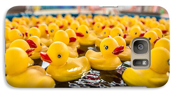 County Fair Rubber Duckies Galaxy S7 Case by Todd Klassy