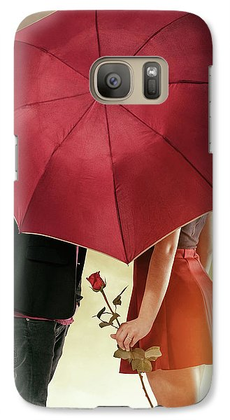 Galaxy Case featuring the photograph Couple Of Sweethearts by Carlos Caetano