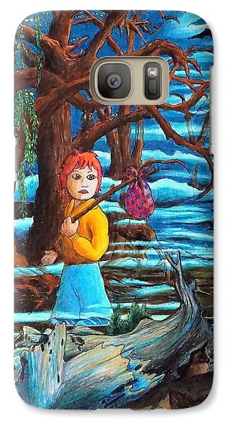 Galaxy Case featuring the painting Courage ... by Matt Konar