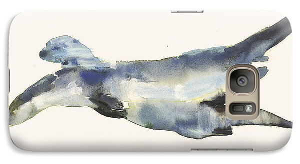 Courting Otters  Galaxy Case by Mark Adlington