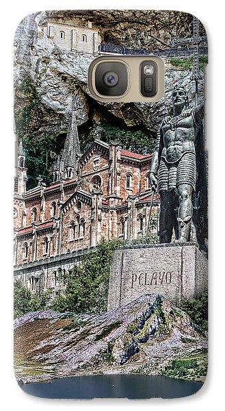 Galaxy Case featuring the photograph Covadonga by Angel Jesus De la Fuente