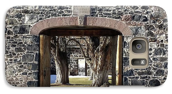 Galaxy Case featuring the photograph Cove Fort, Utah by Cynthia Powell