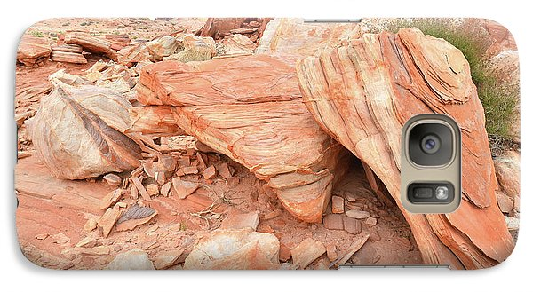 Galaxy Case featuring the photograph Cove Of Sandstone Shapes In Valley Of Fire by Ray Mathis
