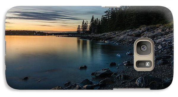 Galaxy Case featuring the photograph Cove by Paul Noble