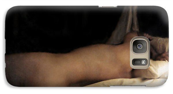 Galaxy Case featuring the photograph Cowboy Dreaming by RC deWinter