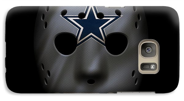 Cowboys War Mask 2 Galaxy S7 Case
