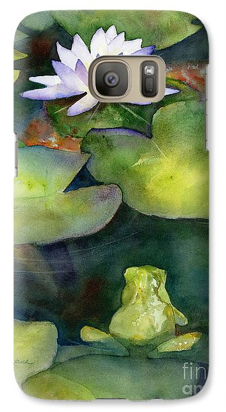 Lily Galaxy S7 Case - Coy Koi by Amy Kirkpatrick