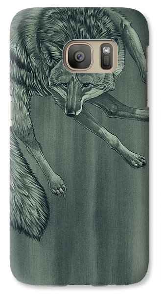 Galaxy Case featuring the digital art Coyote by Aaron Blaise