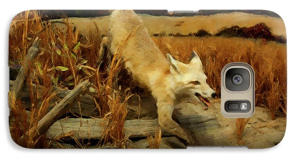 Galaxy Case featuring the digital art Coyote  by Chris Flees